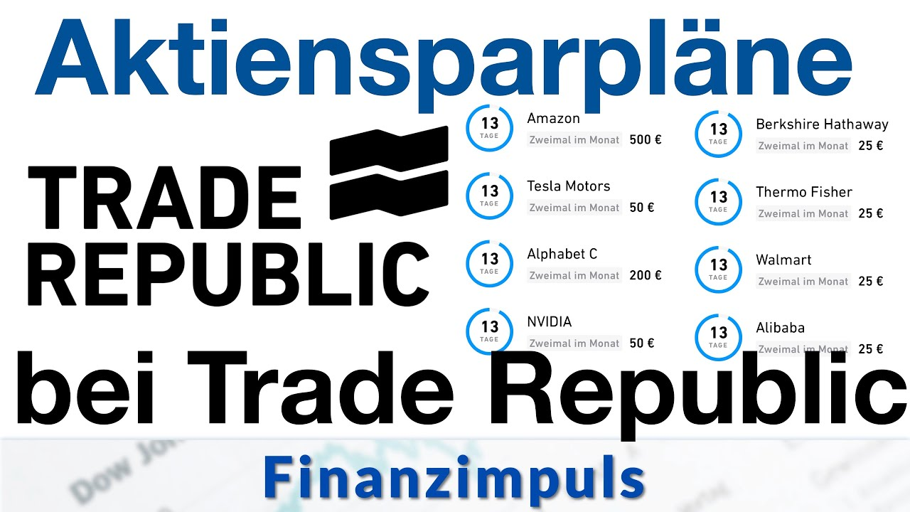 Aktiensparplan bei Trade Republic